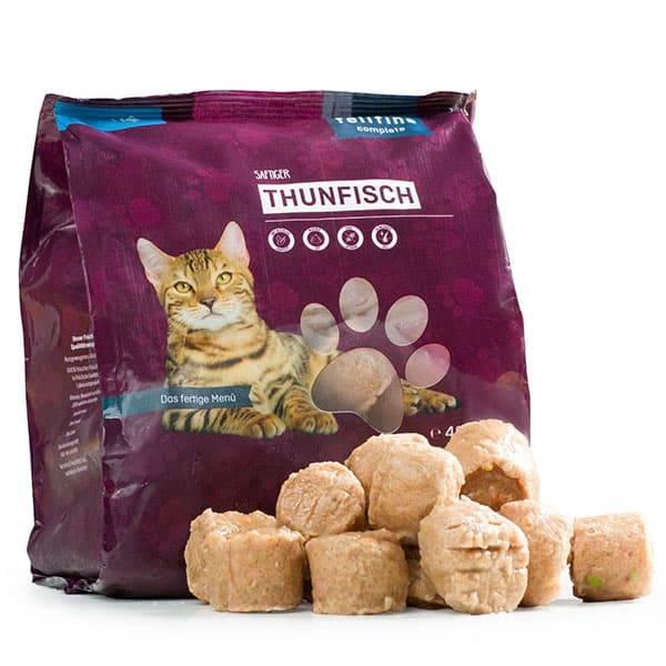FeliFine BARF Komplettmenüs für Katzen mit zartem Thunfisch