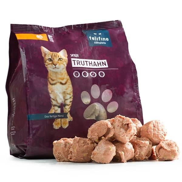 FeliFine BARF Komlettmenüs für junge Katzen  und Kitten - Vorrats- und Testpaket